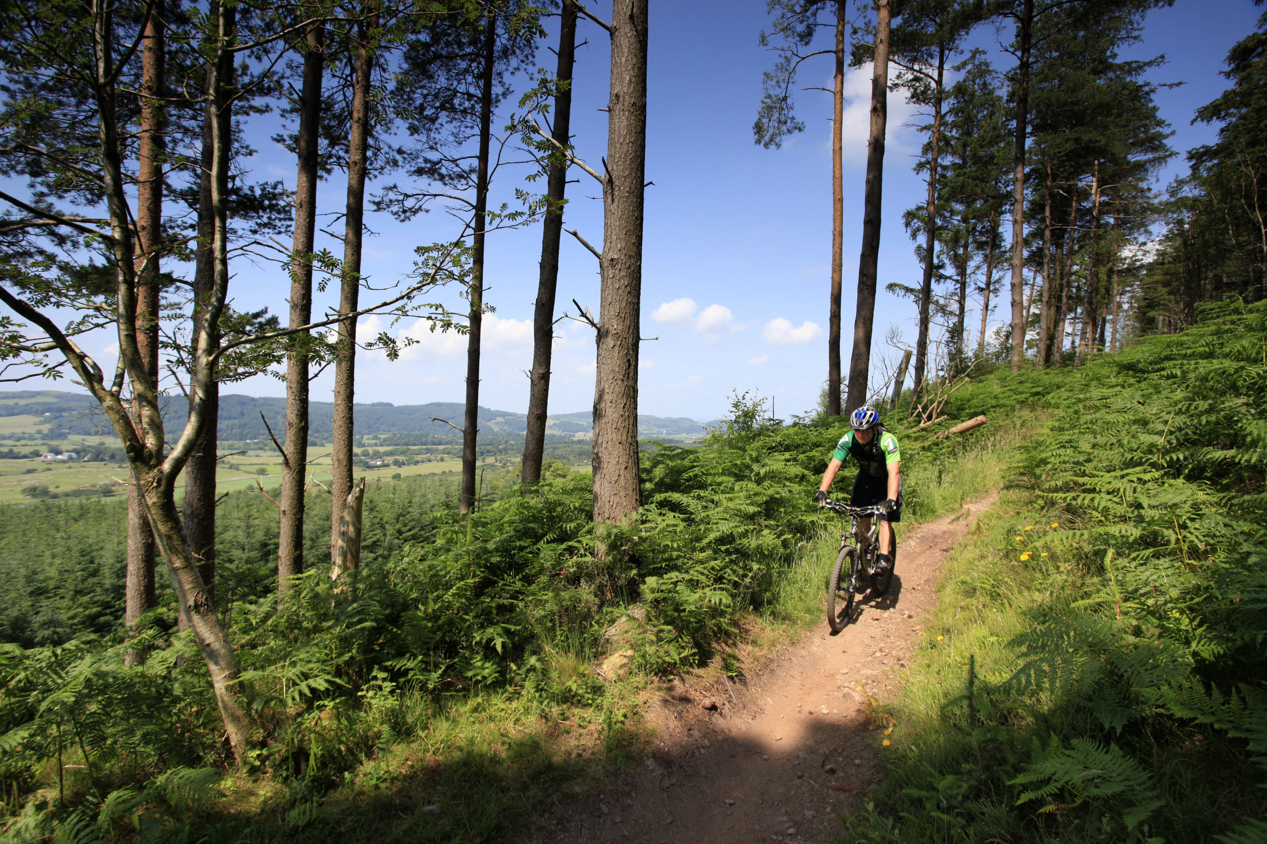 Schotland biking