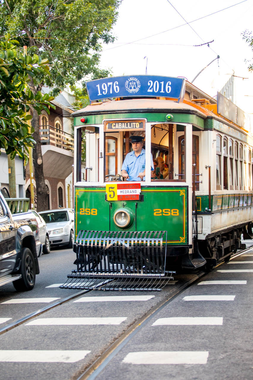 Trammetje Buenos Aires-